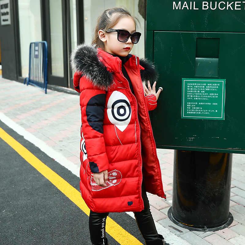 Nastoletnie dziewczyny nowa czarna czerwona gruba powłoka odzież zimowa kostium dla rozmiaru 6 7 8 9 10 11 12 13 14 lat dziecko dorywczo dół kurtki