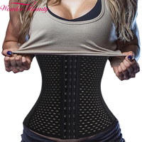 Wonder Beauty Hot Body Shaper Waist Trainer Latex Waist Cincher Fast Weight Loss Girdle Slimming Belt