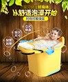 2016 Горячая слау Детские ванны детская ванна детская ванна утолщение большая ванна баррель