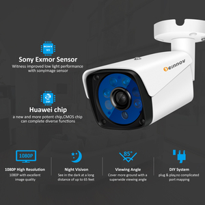 Image 2 - Einnov 8CH 5MP ชุดการเฝ้าระวังวิดีโอกล้องรักษาความปลอดภัยกลางแจ้งระบบ DVR AHD กล้องกล้องวงจรปิด Night Vision กันน้ำ IP66 P2P