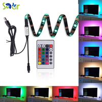 Neon Accent LED Strips Bias Backlight RGB Lights With Remote Control For HDTVFlat Screen TV Accessories