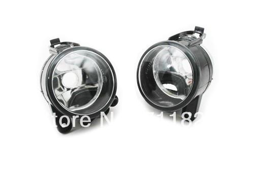 Front Reflector Fog Light Assembly For VW Golf MK5