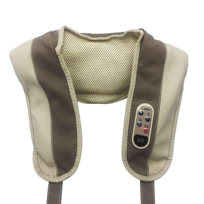 Massage Shawl. Neck Shoulder Massage Belt Cape Massager Instrument. Back Cervical Vertebra Massage Device Relaxation Machine cape cervical device beat neck and shoulder massage hammer