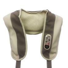 Massage Shawl. Neck Shoulder Massage Belt Cape Massager Instrument. Back Cervical Vertebra Massage Device Relaxation Machine цена 2017