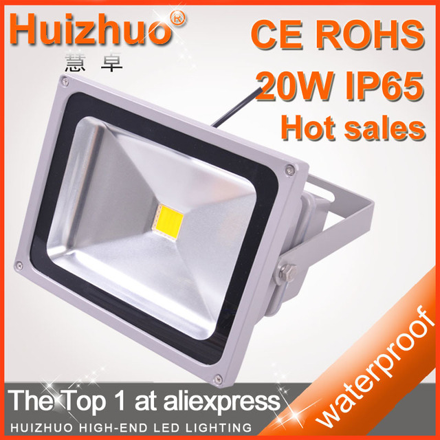 [Huizhuo Lighting]4pcs/lot Free Shipping Professional 20W AC85-265V LED Floodlight Lamp Outdoor Floodlighting