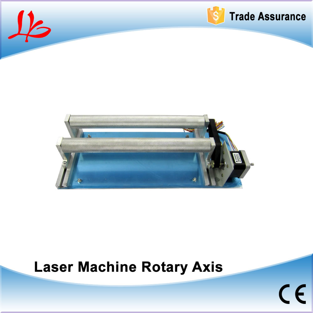 Laser CNC router machine rotary axis / rotary jig / cylinder engraving rotary axis use for laser engraving machine 2017 hot sale model 5 axis cnc engraving