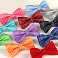 lot adjustable Child bow tie Silk filament casual Korean version Point butterfly bowties Baby bowknots gravata borboleta atacado