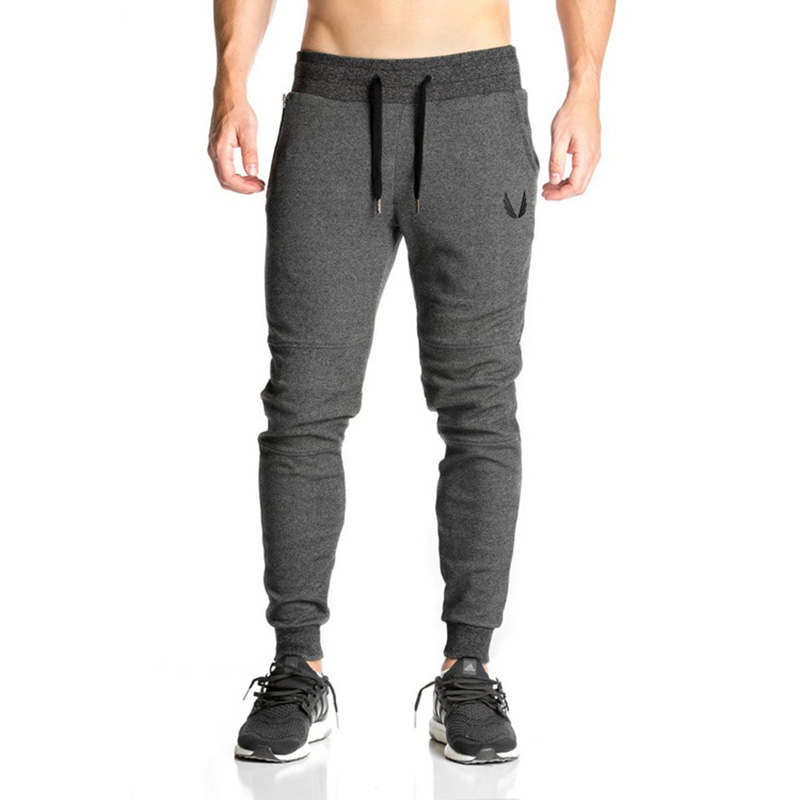 2018 New High Quality Jogger Pants Men Fitness Bodybuilding Gyms Pants For Runners Clothing Autumn Sweat Trousers Britches