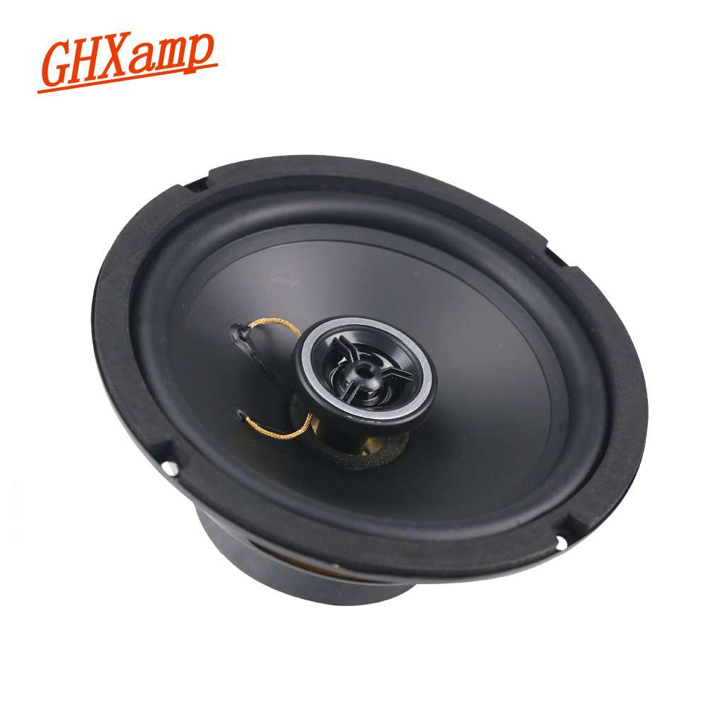 6.5 inch 165mm Coaxial Car CD Full Range Speaker Unit 8ohm 30W Neodymium Auto Audio Loudspeaker 1Pairs ghxamp 6 5 inch full range speaker coaxial horn car speaker unit 8ohm 30w neodymium car audio loudspeaker 2pcs