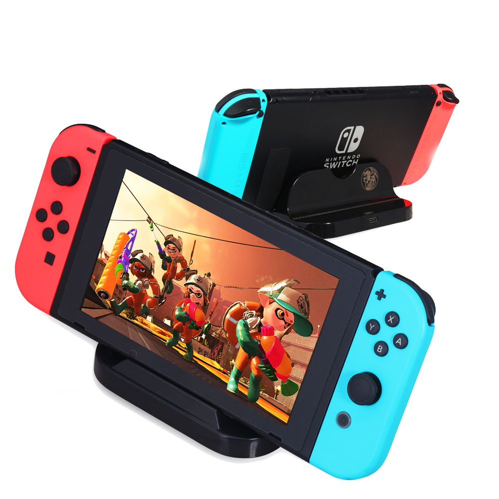 Hot selling TNS-860 3 in 1 Nintend Switch Hunter Kit, Controller Grip, Charge Stand, Game Card Box Storag for Nintendo Switch 3