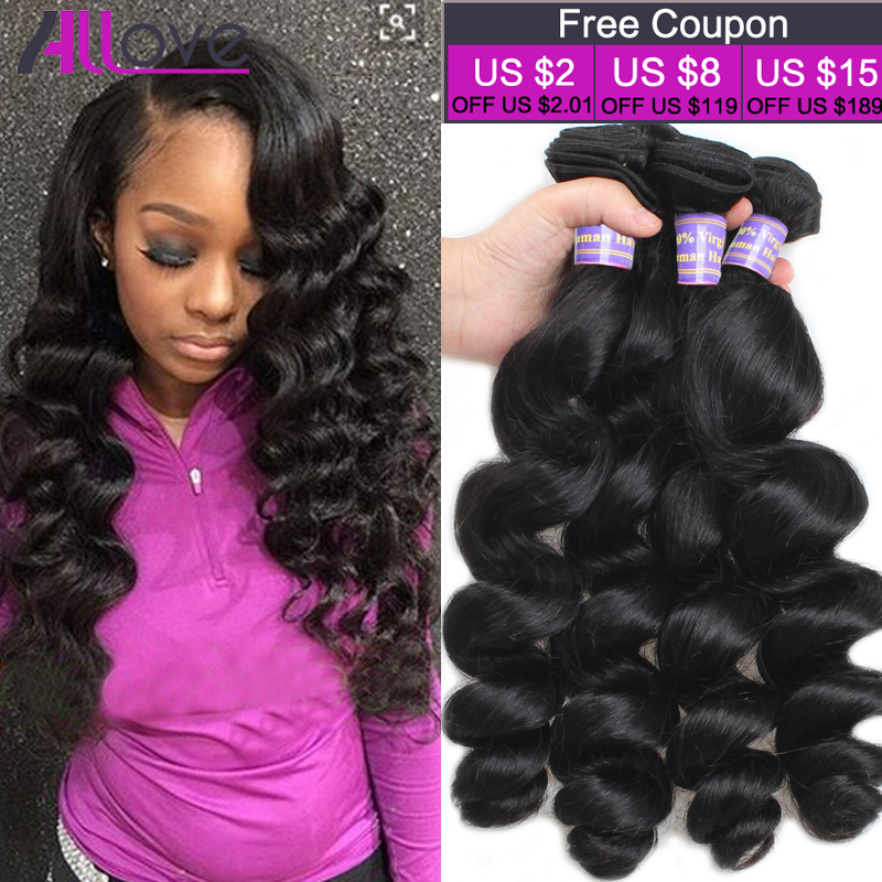 Best Quality 8a Brazilian Virgin Hair Loose Wave Brazilian