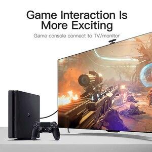 Image 3 - Vention HDMI vers DVI câble DVI D 24 + 1 broche mâle vers mâle 1080P HD 3D câble adaptateur pour moniteur PS4 projecteur haute vitesse hdmi câble