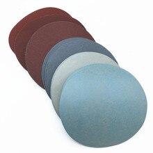 Discos de lija redondos, 30ps, 125mm /5 , grano 1000 /1500 /2000 /3000/ 5000, papel de lija con bucle de gancho, hoja de lija