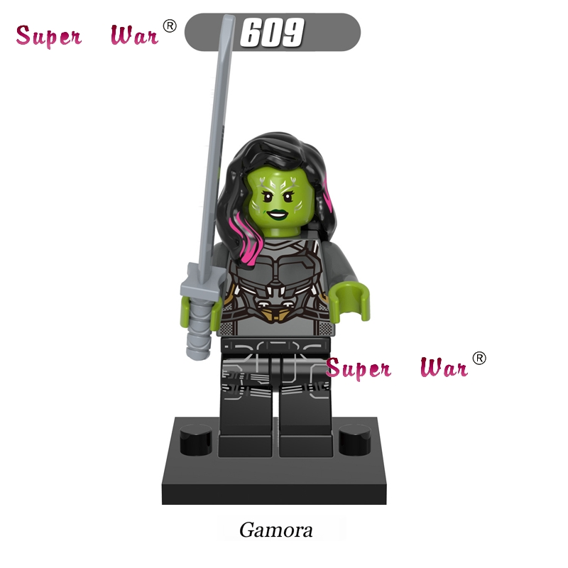 20pcs star wars Guardians of the Galaxy Gamora building blocks figure bricks model Collection educational classic baby toy