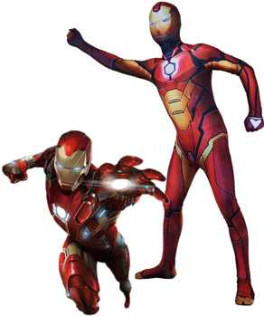 Iron Man Cosplay Costume Zentai Superhero Bodysuit Suit Jumpsuits for adults and kids - DISCOUNT ITEM  30% OFF All Category