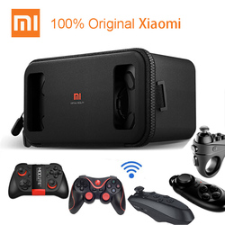 100% Original Xiaomi VR Virtual Reality 3D Glasses Box Immersive cardboard MI VR For 4.7-5.7 inch smartphone With Controller