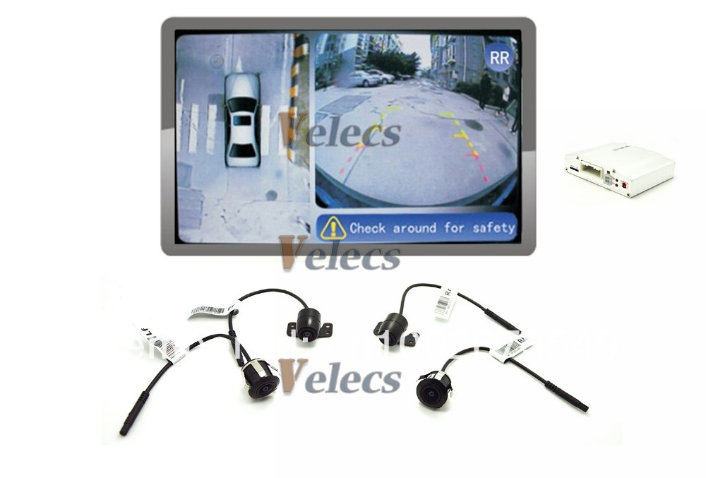 Parking Assist Universal For All Cars Bird S Eye View Parking Aid