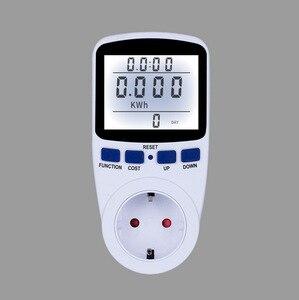 ЕС/США/AU/Великобритания цифровой счетчик энергии ваттметр с подсветкой электронный измеритель мощности запись Вольт Напряжение розетка ан...