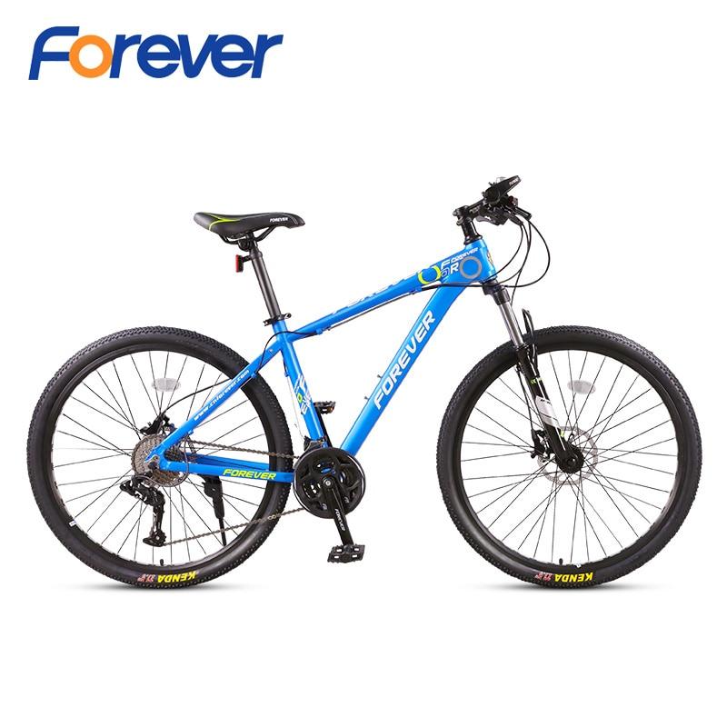 Forever 30Speed Mountain Bicycle Al 27.5 in Fat Tyre Bike Variable Speed Road Bike Racing Bicycle 3-finger Hydraulic Brake MTBForever 30Speed Mountain Bicycle Al 27.5 in Fat Tyre Bike Variable Speed Road Bike Racing Bicycle 3-finger Hydraulic Brake MTB