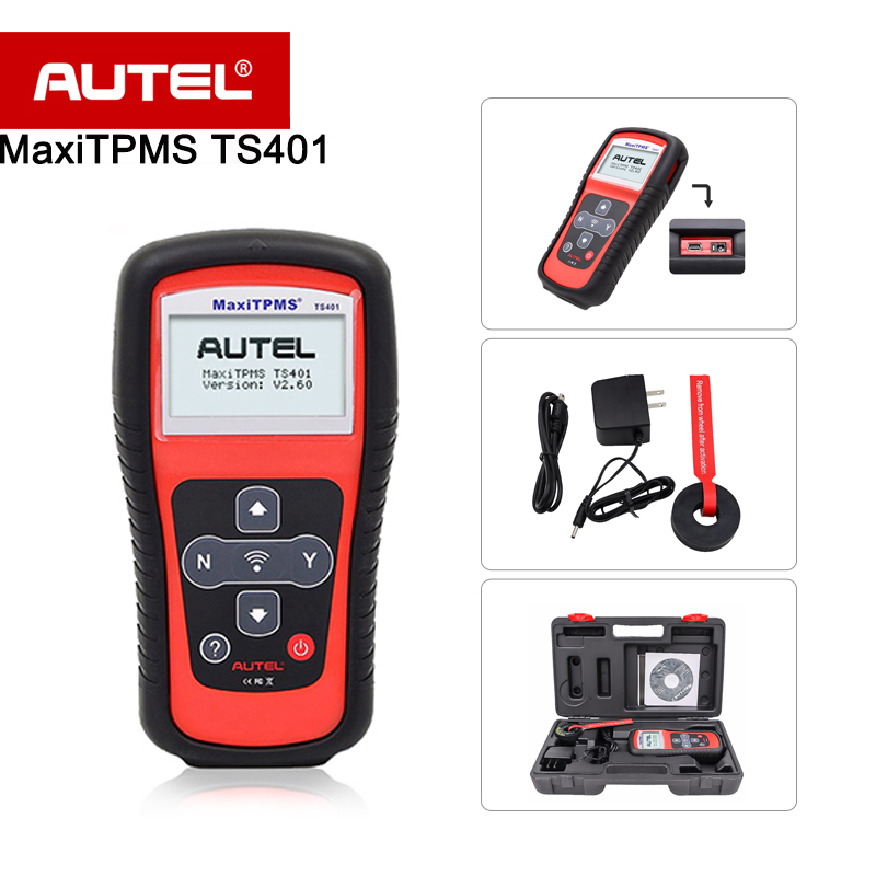 Autel Tire Pressure Monitoring System TS401 with MX Sensor Programming function linux system programming