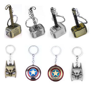 kefeng jewelry Marvel Avengers Thor's KeyChain Keyrings