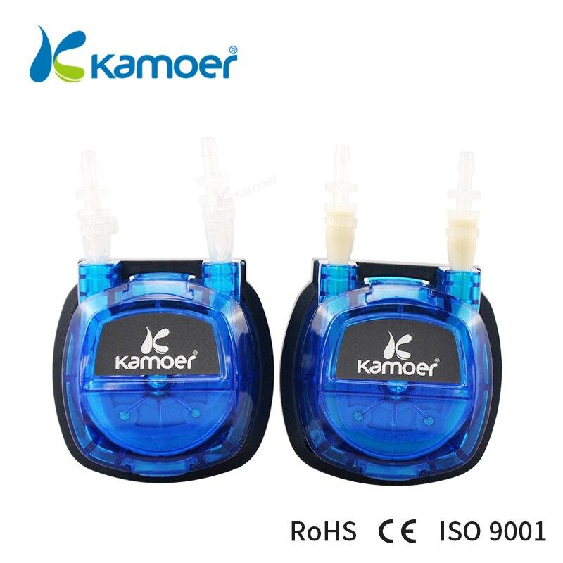 Kamoer KHS Péristaltique Pumpthe date Coût-efficace DC brosse moteur pompe à eau avec de silicium/Norprene tubes