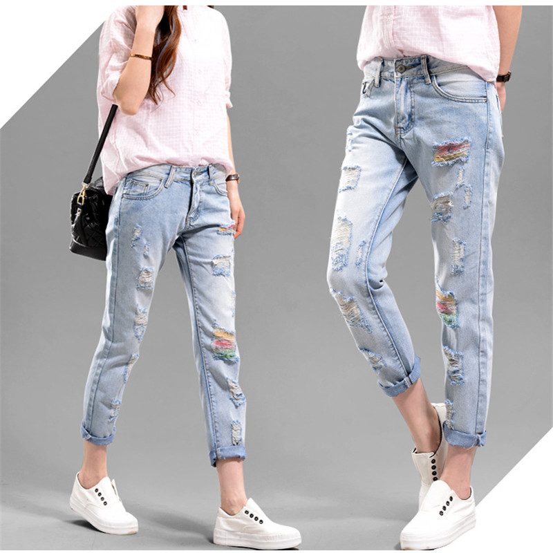Compare Prices on Girls Ripped Skinny Jeans- Online Shopping/Buy ...