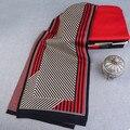 Diseño de moda A Rayas A Cuadros Hombres Bufanda de Lana Bufandas Chales Wrap Echarpe de Invierno Bufandas Calientes de Lujo del Hombre de Negocios Marca BF-137