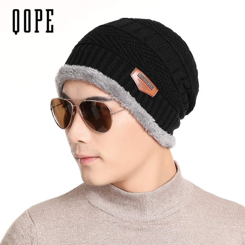 2017 New Unisex Women Men Sports Camping Hat Winter Beanie Baggy Warm Wool Ski Cap Winter Hat Caps skullies beanies hats for man 2017 new lace beanies hats for women skullies baggy cap autumn winter russia designer skullies