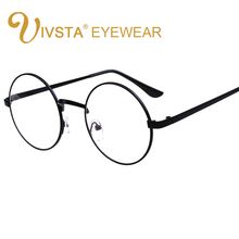 IVSTA Vintage Round Glasses Men Glasses Frame Prescription E