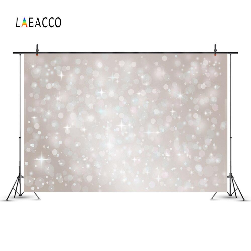 Laeacco Dreamlike Light Bokeh Pat pentru nou-născuți Fotogramele - Camera și fotografia - Fotografie 3