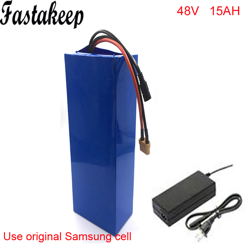 No Taxes 1000w 48V Electric Bicycle Battery Pack With  30A BMS 48v 15ah Bafang Bbs02 Ebike  Battery