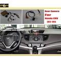 HD Автомобильный Заднего Вида Резервного Копирования Камера Заднего Наборы Для Honda CRV CR-V 2012 ~ 2015/Ночного Видения/RCA & Оригинальный Экран совместимость
