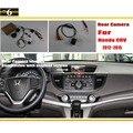 Hd coche cámara de visión trasera inversa conjuntos para honda CRV CR-V 2012 ~ 2015/Visión Nocturna/RCA y Pantalla Original Compatible