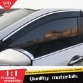 Für Nissan Qashqa Kunststoff Fenster Visor Vent Shades Sonne Regen Deflektor Schutz Für Nissan Qashqa Auto Zubehör 4 teile/satz 14  16|Markisen & Schutzhütten|Kraftfahrzeuge und Motorräder -