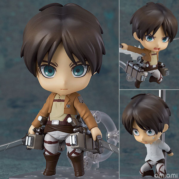 Attack on Titan PVC Anime Cute Nendoroid Action Figure Collectible Model Toy