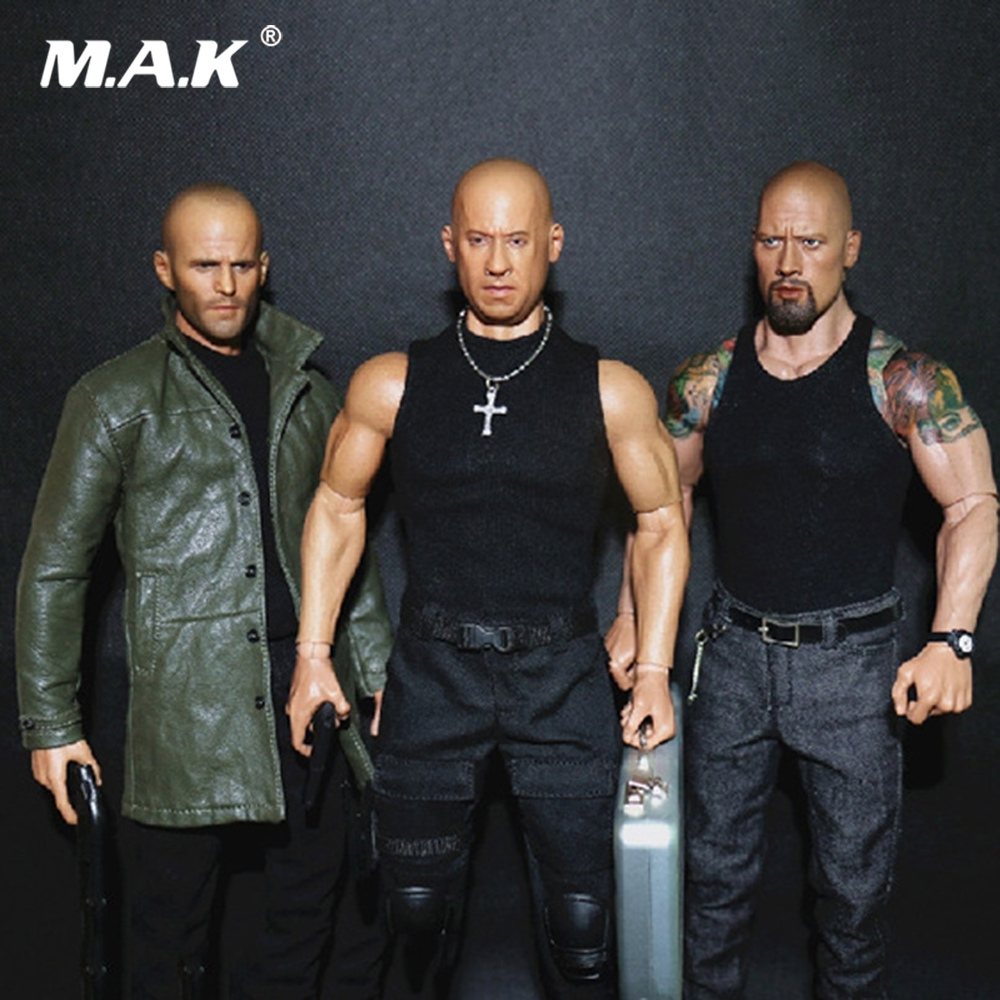WK89014A/B/C Collectible 1/6 Male Figure Accessory Johnson Jason Statham Head & Clothes Set & Shoes No Body for 12'' Man Figure цена