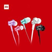Original Xiaomi Mi Piston 3 Edition Earphones 3 5mm Hearphones Headsets With Mic Flat Wire For