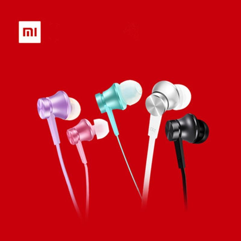 Original Xiaomi mi Piston 3  Edition Earphones 3.5mm Hearphones Headsets with Mic flat wire for RedMi Note 4 3 2 Pro 3S leTV original xiaomi piston 3 basic edition earphone headset auricular with mic in ear for xiaomi xiaomi redmi note 3 pro redmi 3s
