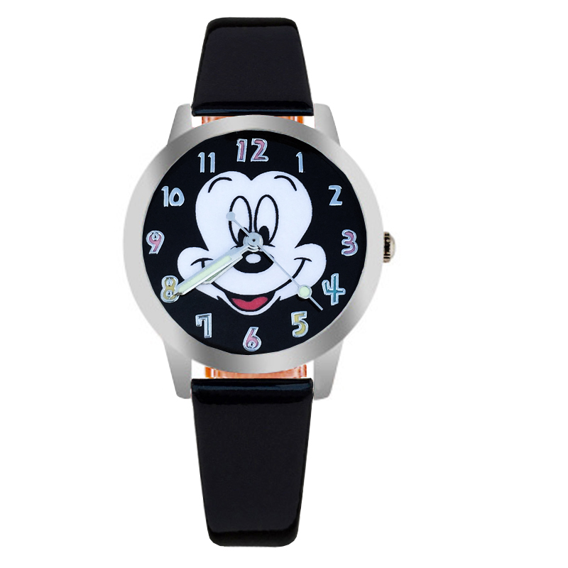 Watches Independent New 2019 Fashion Cool Mickey Cartoon Watch For Children Girls Leather Digital Watches For Kids Boys Christmas Gift Wristwatch Buy One Give One