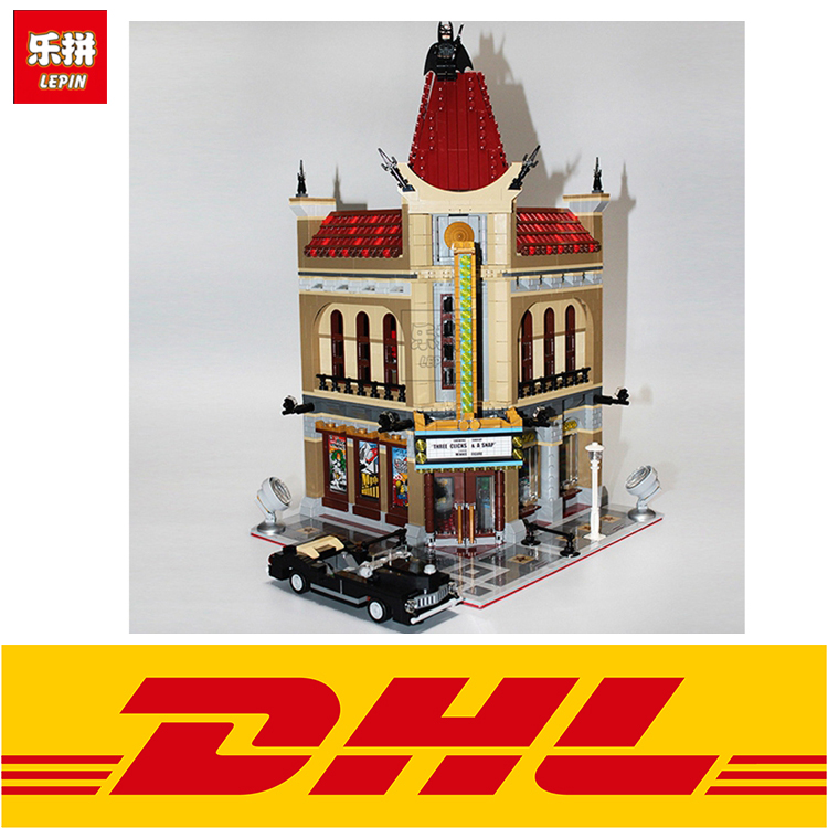 2016 New LEPIN 15006 2354pcs Palace Cinema Model Building Blocks set figures Bricks Toys for children Compatible with 10232Gifts lepin 14025 nexus knight 110pcs king s guard artillery model building blocks bricks set figures kid toys compatible 70347