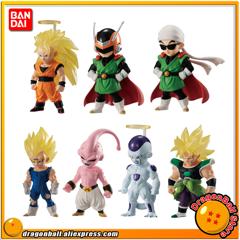 Dragon Ball SUPER Broly Original BANDAI ADVERGE 10 Collection Figure Full Set of 7 Pcs