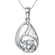 SAY 925 sterling silver Fashion jewelry women necklace pendant Wedding necklace (only pendant) QN063(China)