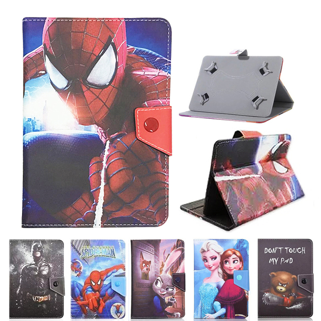 For Irbis TZ172/TZ173/TZ174/TZ175/TZ176/TZ177/TZ178/TZ185/TZ186/TZ192/TW90 10.1inch Tablet Printed PU Leather Stand  Cover Case
