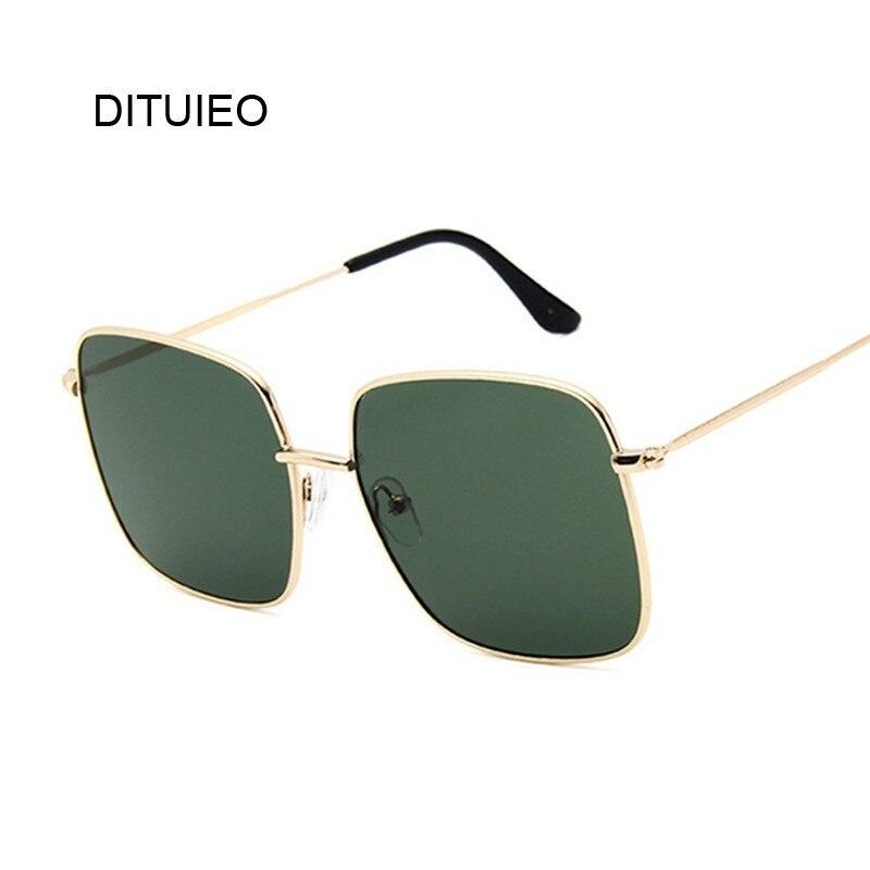 Oversized Shades Women Sunglasses Black Fashion Square Big Frame Sunglasses Female Vintage Retro Glasses Unisex Oculos Feminino
