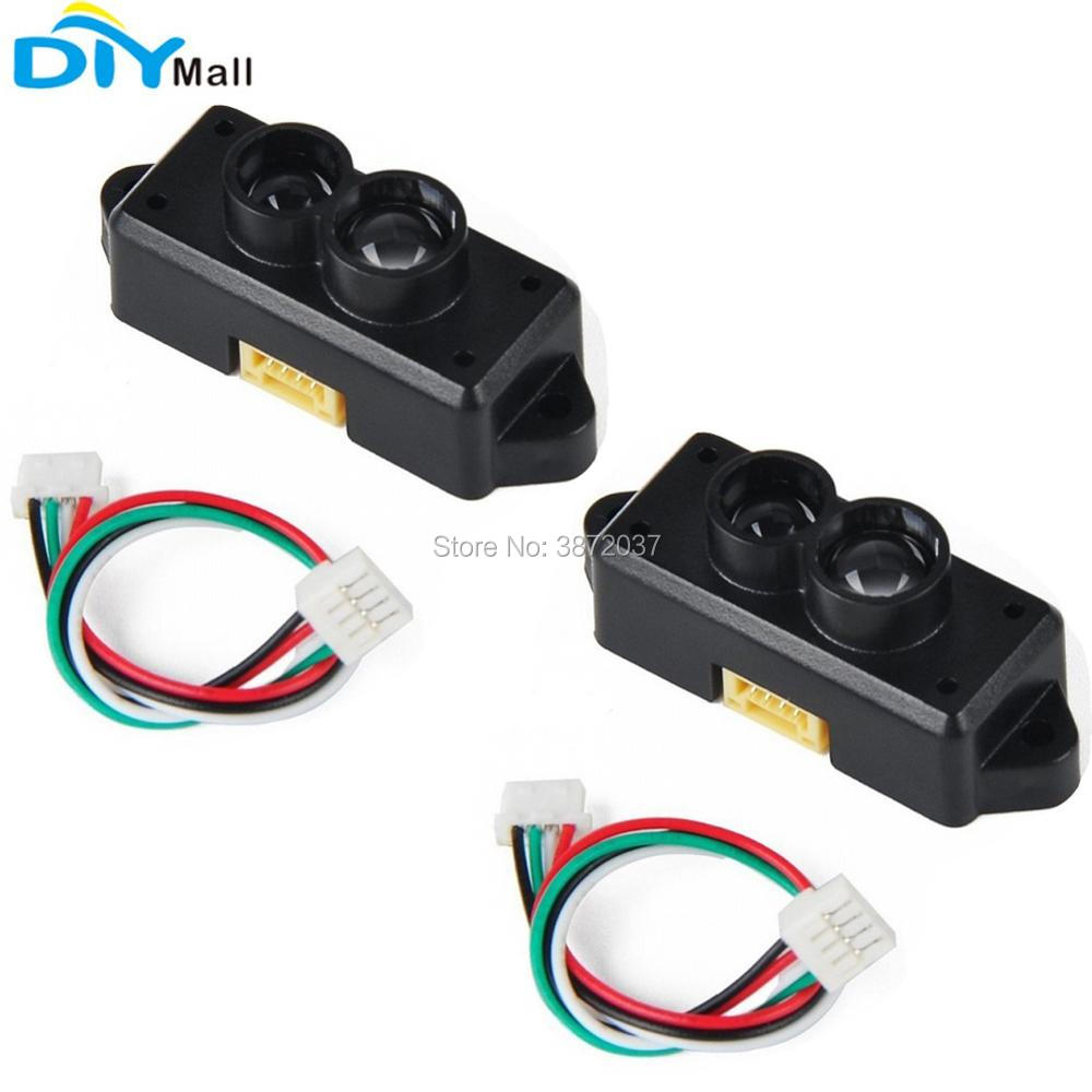 2pcs/lot TFmini Lidar Sensor Module Single-Point Range Finder 0.3-12m Distance Detection Obstacle Avoidance for Arduino Pixhawk line hunting sensor module for arduino works with official arduino boards