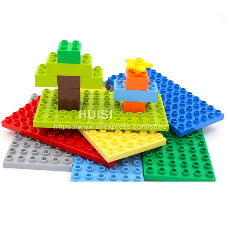 Duplo Lego Kompatibel Anak-anak Mainan DIY ABS Plastik Mainan Blok - Mainan bangunan dan konstruksi - Foto 2