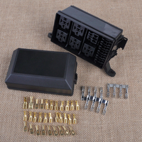 Car Auto Vehicle Fuse Relay Holder Box 6 Socket 5 Road The Nacelle Insurance For Ford