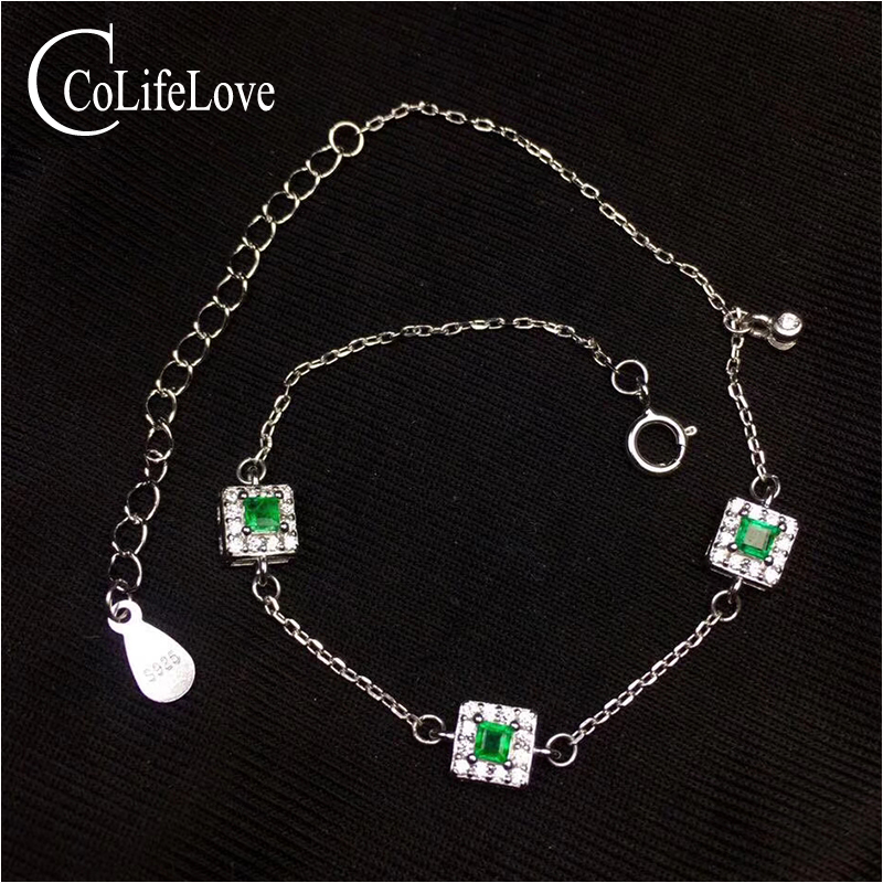 Fashion thin silver emerald bracelet for woman 3 pcs 2.5 mm natural emerald silver bracelet 925 sterling silver emerald jewelry fashion emerald bracelet for evening party 8 pcs 3 mm 5 mm natural emerald bracelet 925 sterling silver emerald jewelry