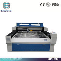 New and surprise metal and non metal laser cutting machine&Laser cutter ball screw transmission